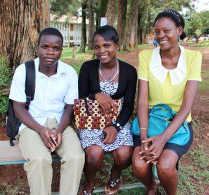 Annette with Kim (Wakabi James Kimera) and Namuda Sharifah_cropped