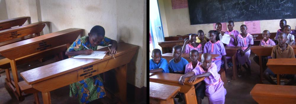 Funds buy desks for primary school